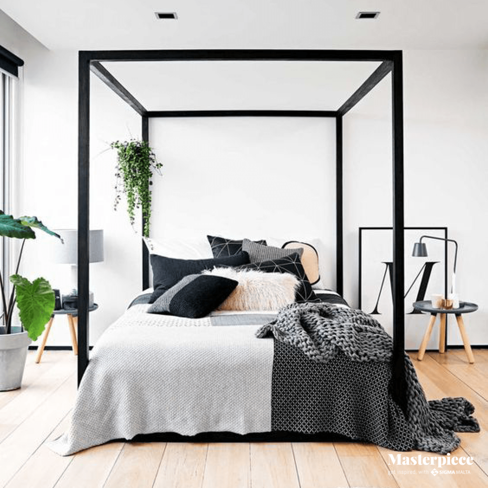 Minimalist </br><span> chic bedroom </span>