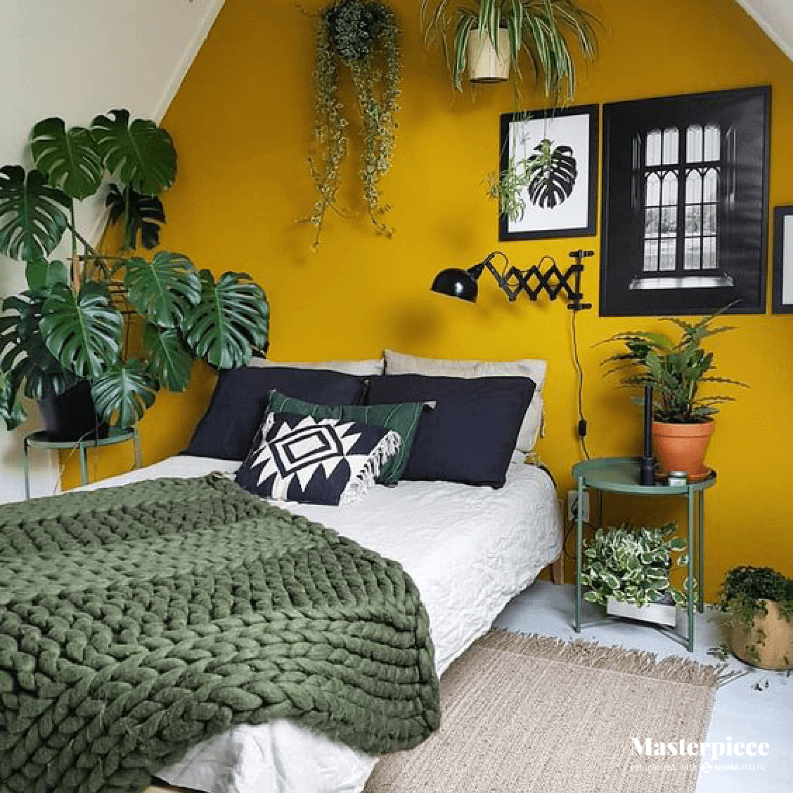 Plants and Mustard </br><span> Beautiful Combination </span>